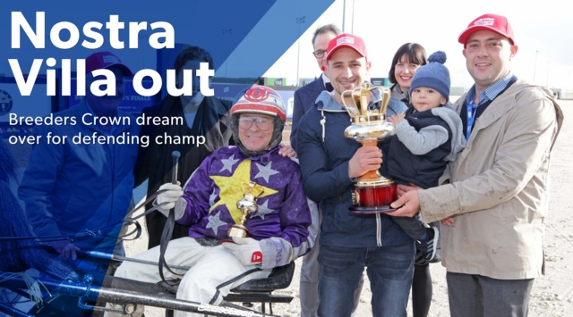 Breeders Crown Nostra Villa Withdrawn From Race Harness